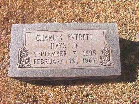 HAYS, JR, CHARLES EVERETT - Dallas County, Arkansas | CHARLES EVERETT HAYS, JR - Arkansas Gravestone Photos