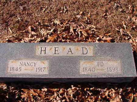 HEAD, NANCY - Dallas County, Arkansas | NANCY HEAD - Arkansas Gravestone Photos