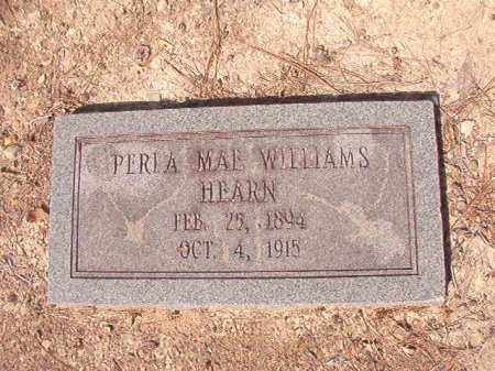 WILLIAMS HEARN, PERLA MAE - Dallas County, Arkansas | PERLA MAE WILLIAMS HEARN - Arkansas Gravestone Photos