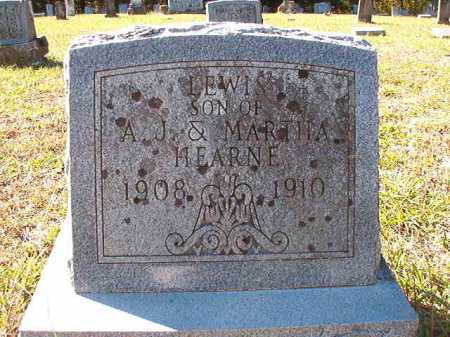 HEARNE, LEWIS - Dallas County, Arkansas | LEWIS HEARNE - Arkansas Gravestone Photos