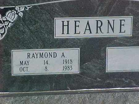HEARNE, RAYMOND AMOS - Dallas County, Arkansas | RAYMOND AMOS HEARNE - Arkansas Gravestone Photos
