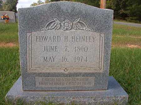 HEINLEY, EDWARD H - Dallas County, Arkansas | EDWARD H HEINLEY - Arkansas Gravestone Photos