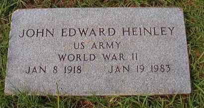 HEINLEY (VETERAN WWII), JOHN EDWARD - Dallas County, Arkansas   JOHN EDWARD HEINLEY (VETERAN WWII) - Arkansas Gravestone Photos