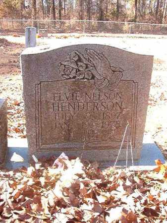 NELSON HENDERSON, ELVIE - Dallas County, Arkansas | ELVIE NELSON HENDERSON - Arkansas Gravestone Photos