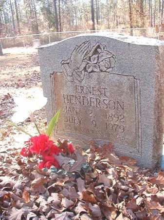 HENDERSON, ERNEST - Dallas County, Arkansas | ERNEST HENDERSON - Arkansas Gravestone Photos