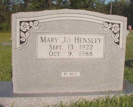 HENSLEY, MARY JO - Dallas County, Arkansas | MARY JO HENSLEY - Arkansas Gravestone Photos