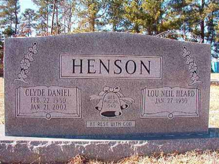 HENSON, CLYDE DANIEL - Dallas County, Arkansas | CLYDE DANIEL HENSON - Arkansas Gravestone Photos