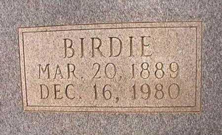 HERN, BIRDIE - Dallas County, Arkansas | BIRDIE HERN - Arkansas Gravestone Photos