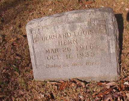 HERN, BERNARD LOUIS - Dallas County, Arkansas | BERNARD LOUIS HERN - Arkansas Gravestone Photos
