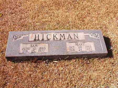 HICKMAN, SAM - Dallas County, Arkansas | SAM HICKMAN - Arkansas Gravestone Photos
