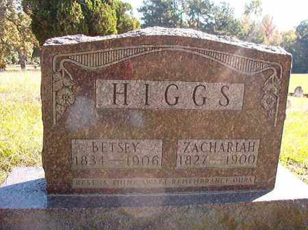 HIGGS, ZACHARIAH (BIO) - Dallas County, Arkansas | ZACHARIAH (BIO) HIGGS - Arkansas Gravestone Photos