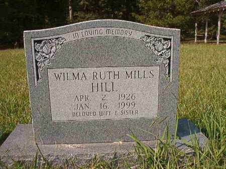 MILLS HILL, WILMA RUTH - Dallas County, Arkansas | WILMA RUTH MILLS HILL - Arkansas Gravestone Photos