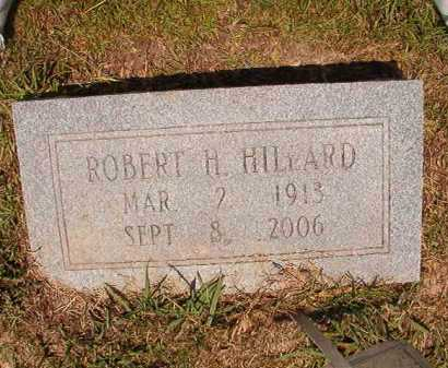 HILLARD, ROBERT H - Dallas County, Arkansas | ROBERT H HILLARD - Arkansas Gravestone Photos
