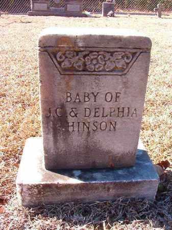 HINSON, BABY - Dallas County, Arkansas | BABY HINSON - Arkansas Gravestone Photos