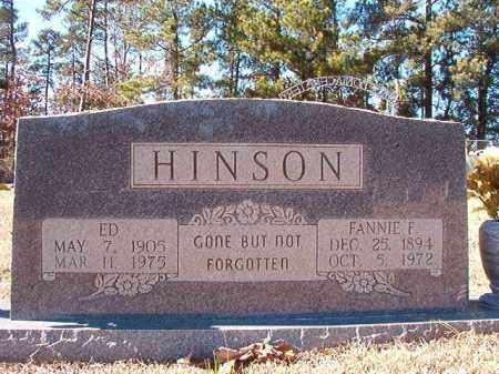HINSON, ED - Dallas County, Arkansas | ED HINSON - Arkansas Gravestone Photos