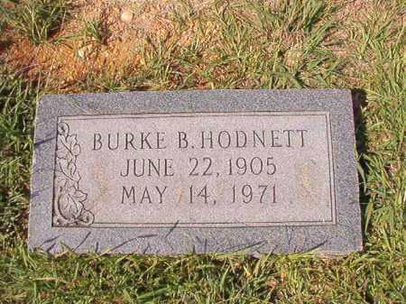 HODNETT, BURKE B - Dallas County, Arkansas   BURKE B HODNETT - Arkansas Gravestone Photos