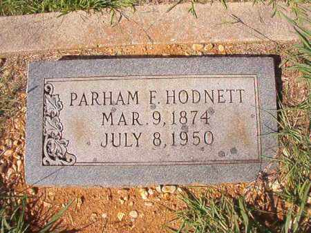 HODNETT, PARHAM F - Dallas County, Arkansas | PARHAM F HODNETT - Arkansas Gravestone Photos
