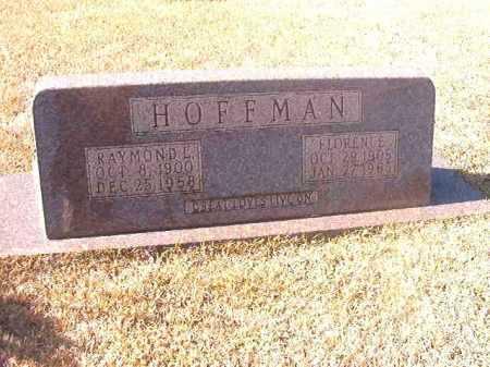 HOFFMAN, RAYMOND L - Dallas County, Arkansas | RAYMOND L HOFFMAN - Arkansas Gravestone Photos