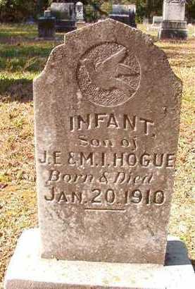 HOGUE, INFANT SON - Dallas County, Arkansas | INFANT SON HOGUE - Arkansas Gravestone Photos