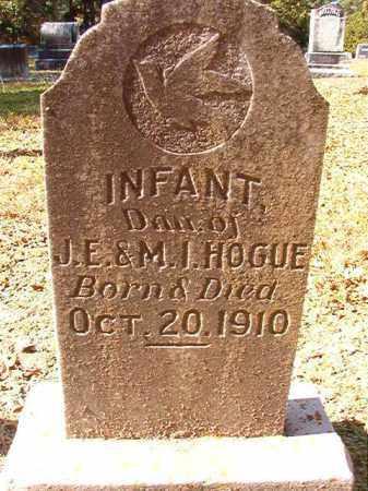 HOGUE, INFANT DAUGHTER - Dallas County, Arkansas | INFANT DAUGHTER HOGUE - Arkansas Gravestone Photos
