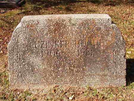 HOGUE, LUZINKER - Dallas County, Arkansas | LUZINKER HOGUE - Arkansas Gravestone Photos