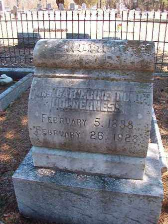 HOLDERNESS, CATHERINE - Dallas County, Arkansas | CATHERINE HOLDERNESS - Arkansas Gravestone Photos