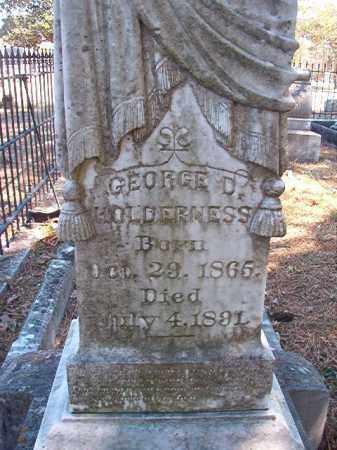 HOLDERNESS, GEORGE D - Dallas County, Arkansas | GEORGE D HOLDERNESS - Arkansas Gravestone Photos