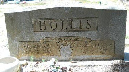 HOLLIS, WILLIAM JOHN - Dallas County, Arkansas | WILLIAM JOHN HOLLIS - Arkansas Gravestone Photos