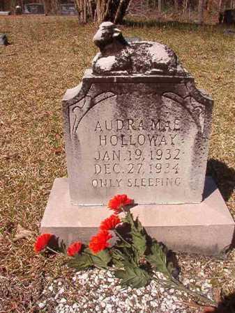 HOLLOWAY, AUDRA MAE - Dallas County, Arkansas   AUDRA MAE HOLLOWAY - Arkansas Gravestone Photos