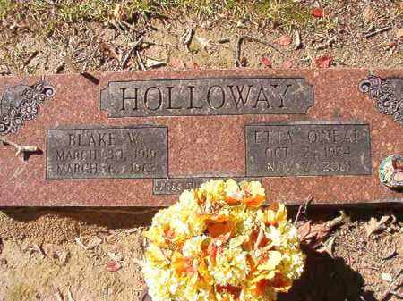 HOLLOWAY, BLAKE W - Dallas County, Arkansas | BLAKE W HOLLOWAY - Arkansas Gravestone Photos