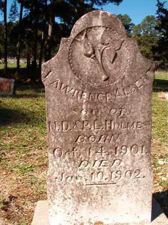 HOLMES, LAWRENCE ALBERT - Dallas County, Arkansas | LAWRENCE ALBERT HOLMES - Arkansas Gravestone Photos