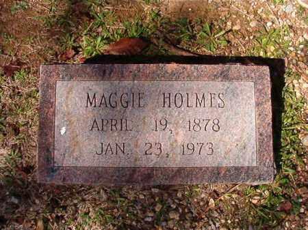 HOLMES, MAGGIE - Dallas County, Arkansas | MAGGIE HOLMES - Arkansas Gravestone Photos