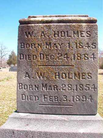 HOLMES, W A - Dallas County, Arkansas | W A HOLMES - Arkansas Gravestone Photos