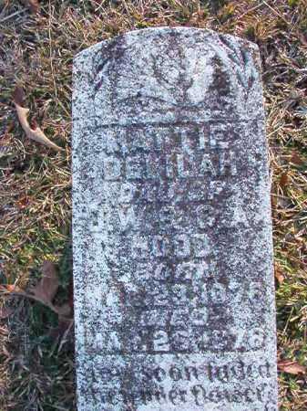 HOOD, MATTIE DELILAH - Dallas County, Arkansas | MATTIE DELILAH HOOD - Arkansas Gravestone Photos