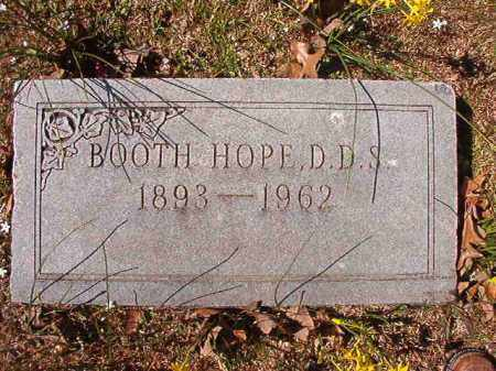 HOPE, DDS, BOOTH - Dallas County, Arkansas | BOOTH HOPE, DDS - Arkansas Gravestone Photos