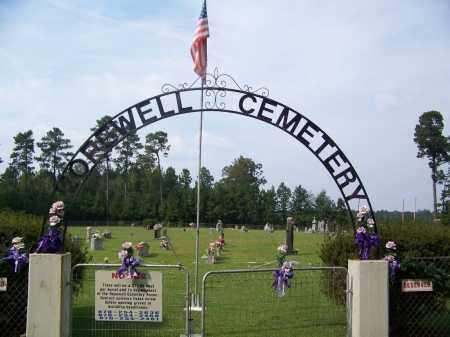 *HOPEWELL, CEMETERY GATE - Dallas County, Arkansas   CEMETERY GATE *HOPEWELL - Arkansas Gravestone Photos