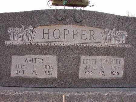 HOPPER, WALTER - Dallas County, Arkansas | WALTER HOPPER - Arkansas Gravestone Photos