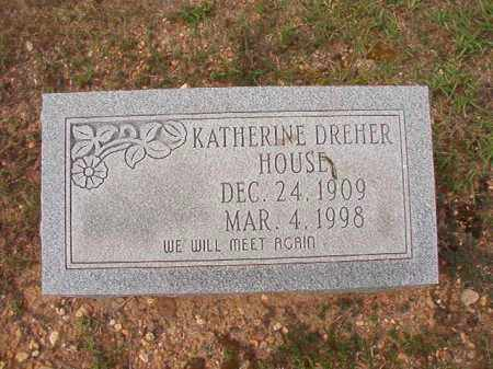 DREHER HOUSE, KATHERINE - Dallas County, Arkansas | KATHERINE DREHER HOUSE - Arkansas Gravestone Photos