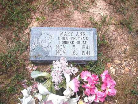 HOUSE, MARY ANN - Dallas County, Arkansas   MARY ANN HOUSE - Arkansas Gravestone Photos