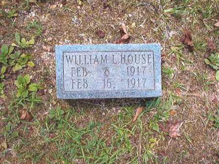 HOUSE, WILLIAM L - Dallas County, Arkansas | WILLIAM L HOUSE - Arkansas Gravestone Photos