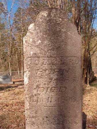 HUBBARD, J C - Dallas County, Arkansas   J C HUBBARD - Arkansas Gravestone Photos