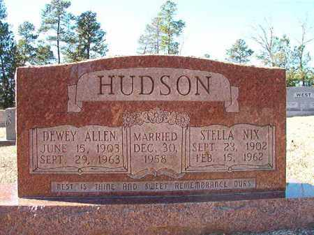 NIX HUDSON, STELLA - Dallas County, Arkansas | STELLA NIX HUDSON - Arkansas Gravestone Photos