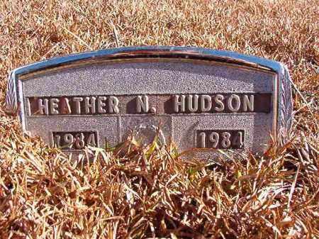HUDSON, HEATHER N - Dallas County, Arkansas | HEATHER N HUDSON - Arkansas Gravestone Photos