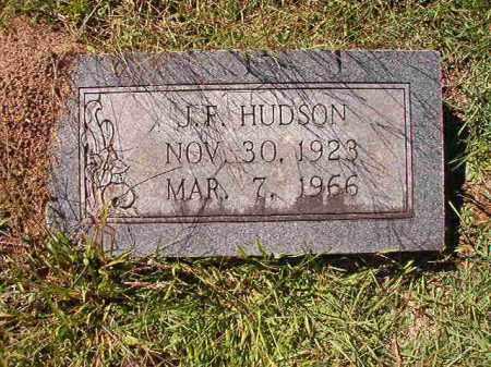 HUDSON, J F - Dallas County, Arkansas | J F HUDSON - Arkansas Gravestone Photos