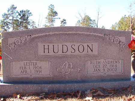 HUDSON, LESTER - Dallas County, Arkansas   LESTER HUDSON - Arkansas Gravestone Photos
