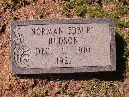 HUDSON, NORMAN EDBURT - Dallas County, Arkansas | NORMAN EDBURT HUDSON - Arkansas Gravestone Photos