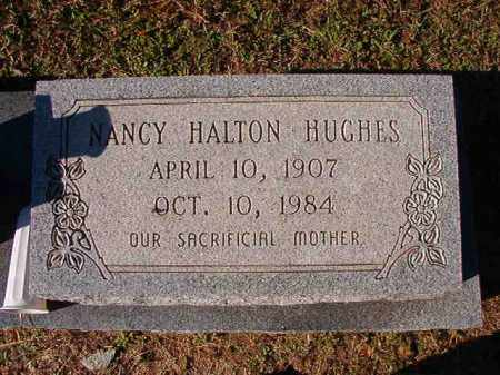 HALTON HUGHES, NANCY - Dallas County, Arkansas | NANCY HALTON HUGHES - Arkansas Gravestone Photos