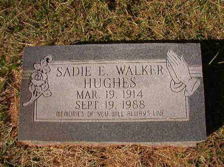 HUGHES, SADIE E - Dallas County, Arkansas | SADIE E HUGHES - Arkansas Gravestone Photos