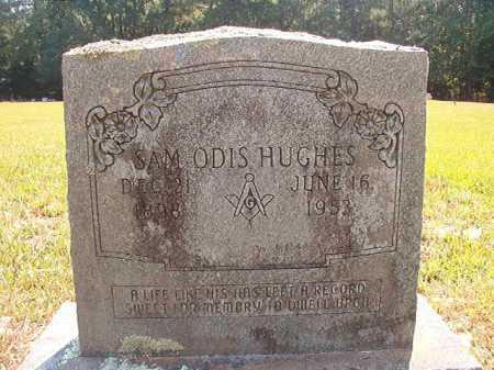 HUGHES, SAM ODIS - Dallas County, Arkansas   SAM ODIS HUGHES - Arkansas Gravestone Photos