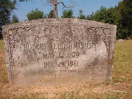 HUMPHREY, ROBERT LEE - Dallas County, Arkansas | ROBERT LEE HUMPHREY - Arkansas Gravestone Photos